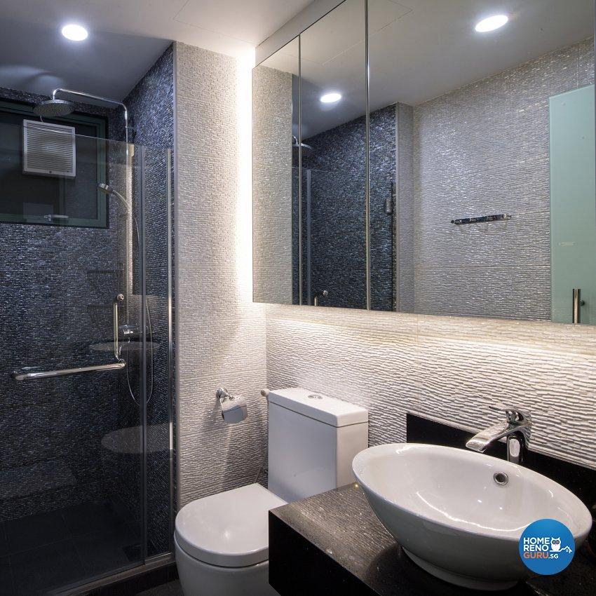 Contemporary, Modern Design - Bathroom - Condominium - Design by Arts Advance Pte Ltd