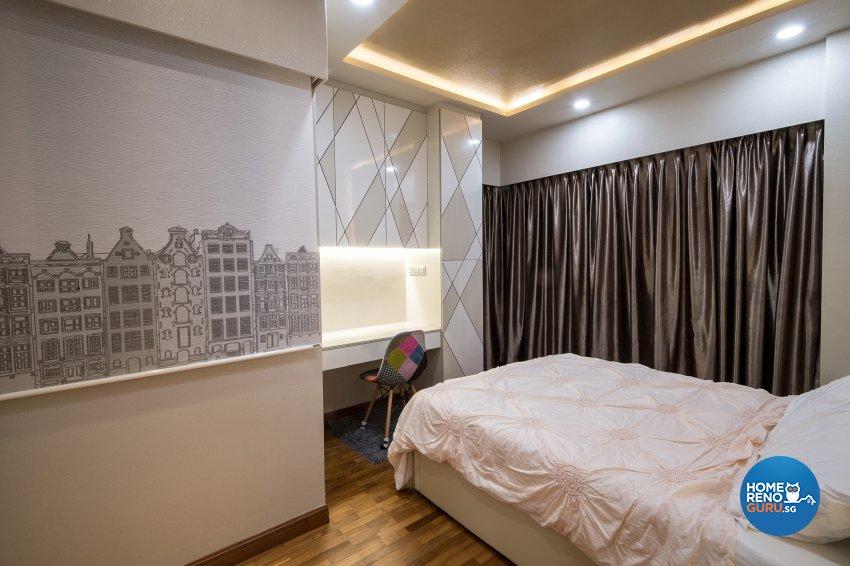 Contemporary, Modern Design - Bedroom - Condominium - Design by Arts Advance Pte Ltd