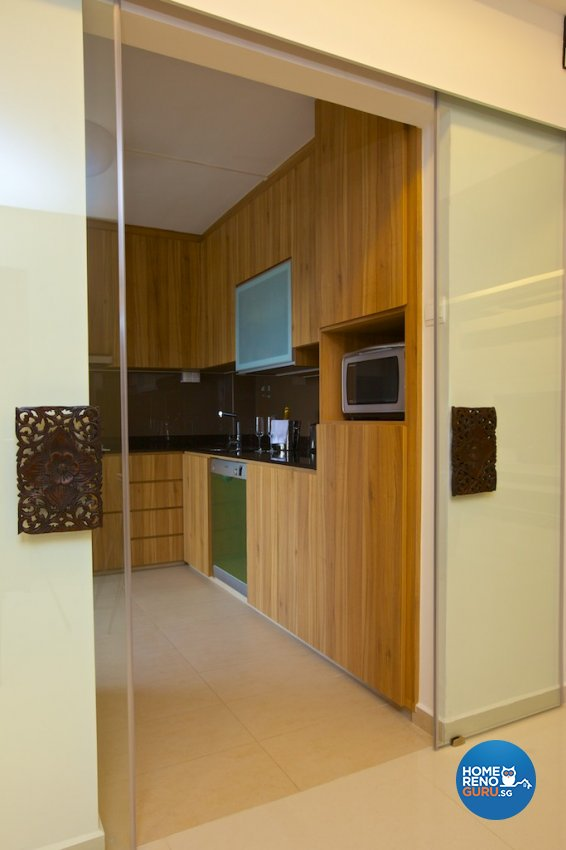 Classical, Contemporary, Modern Design - Kitchen - HDB 5 Room - Design by Asialand ID Pte Ltd