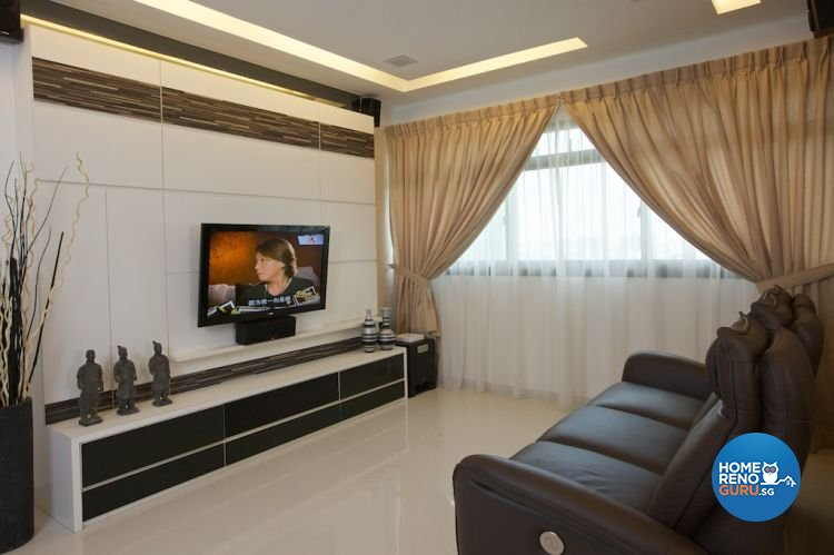 Classical, Contemporary, Modern Design - Living Room - HDB 4 Room - Design by Asialand ID Pte Ltd