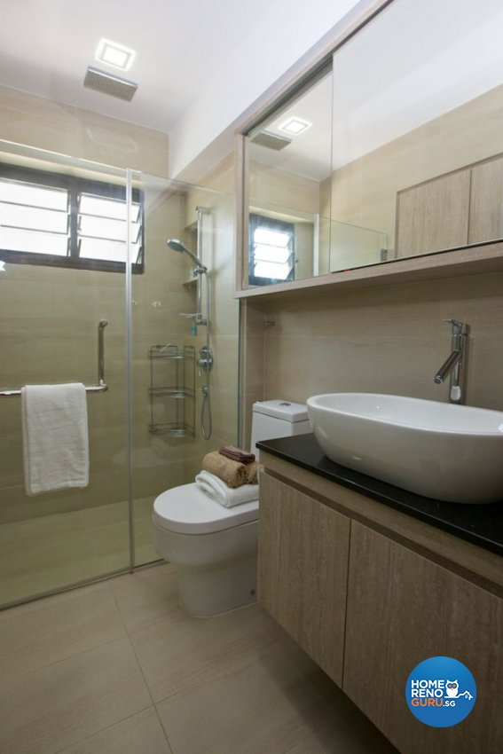 Classical, Contemporary, Modern Design - Bathroom - HDB 4 Room - Design by Asialand ID Pte Ltd