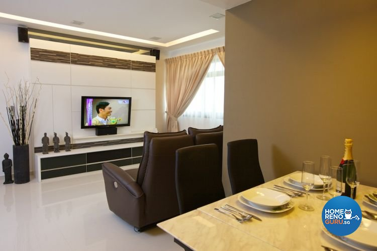 Classical, Contemporary, Modern Design - Dining Room - HDB 4 Room - Design by Asialand ID Pte Ltd