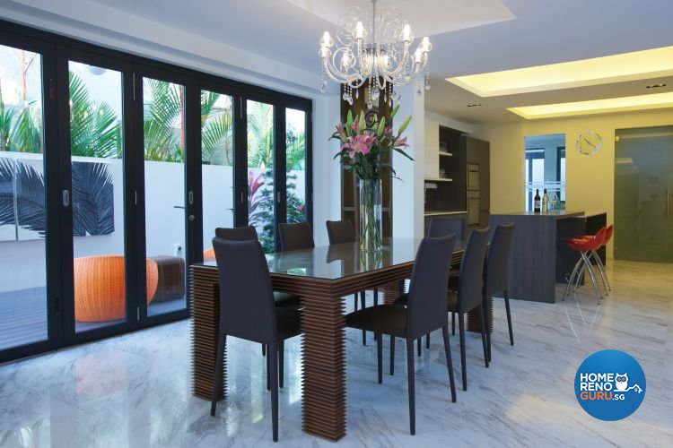 Classical, Contemporary, Modern Design - Dining Room - Landed House - Design by Asialand ID Pte Ltd