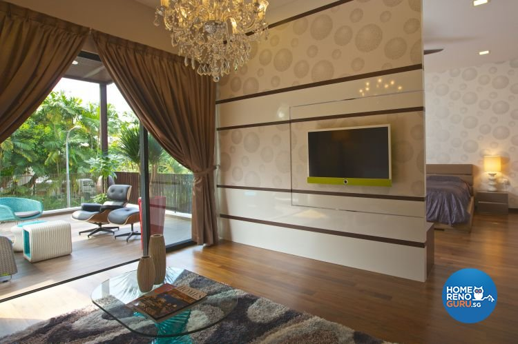 Classical, Contemporary, Modern Design - Bedroom - Landed House - Design by Asialand ID Pte Ltd