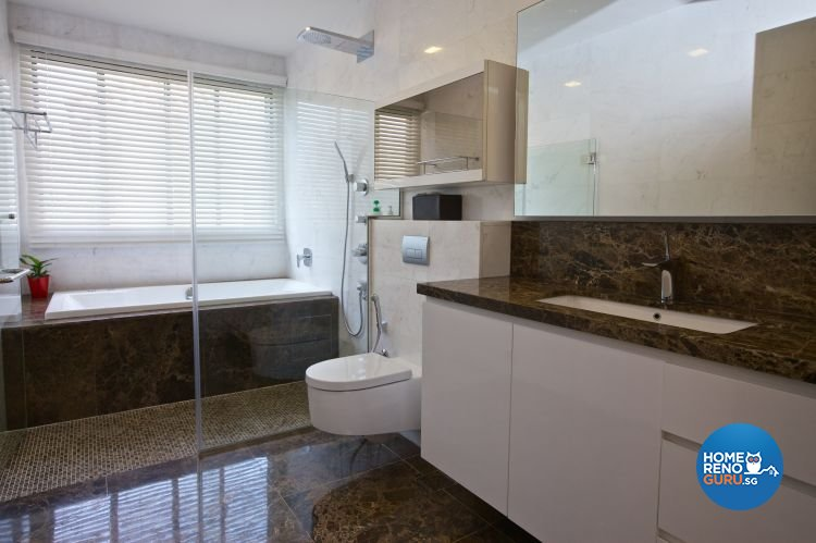 Classical, Contemporary, Modern Design - Bathroom - Landed House - Design by Asialand ID Pte Ltd