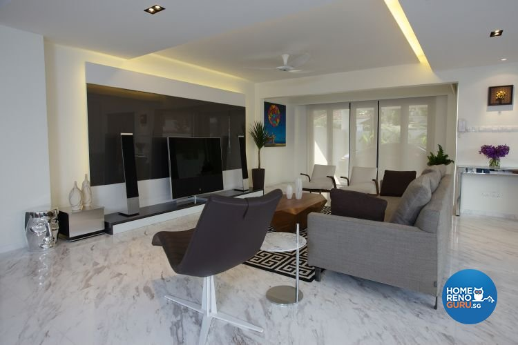 Classical, Contemporary, Modern Design - Living Room - Landed House - Design by Asialand ID Pte Ltd