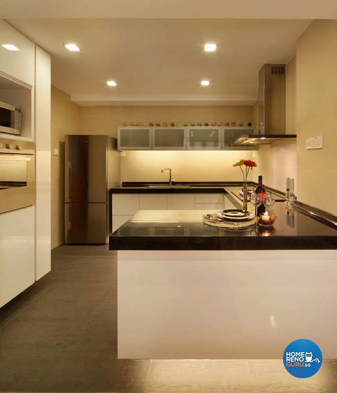 Classical, Contemporary, Resort Design - Kitchen - Condominium - Design by Aspero Design