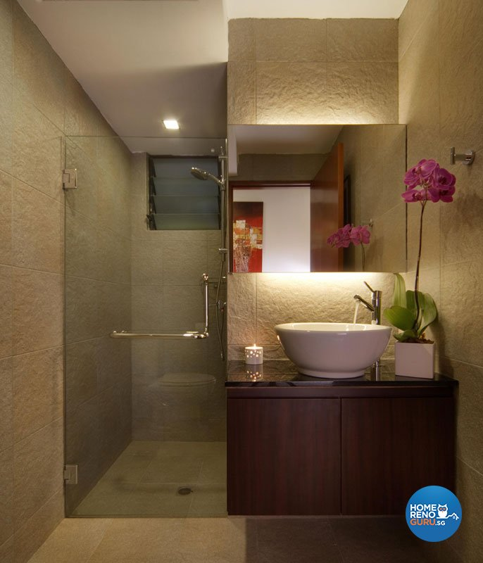 Classical, Contemporary, Resort Design - Bathroom - Condominium - Design by Aspero Design