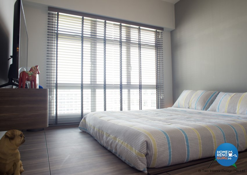 Country, Industrial, Retro Design - Bedroom - HDB 4 Room - Design by B-Two Interior Design Pte Ltd