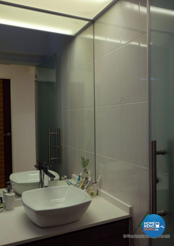 Contemporary, Modern Design - Bathroom - HDB 4 Room - Design by B-Two Interior Design Pte Ltd