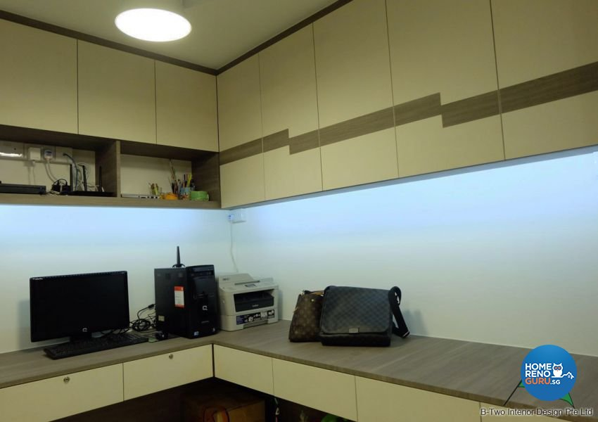 Contemporary, Modern Design - Bedroom - HDB 4 Room - Design by B-Two Interior Design Pte Ltd