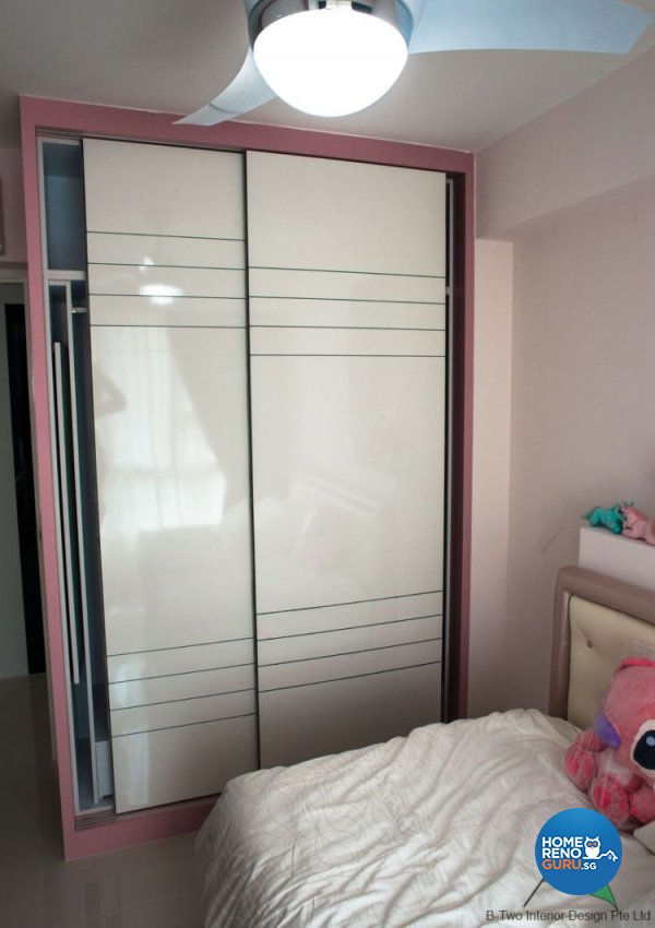 Modern Design - Bedroom - HDB 5 Room - Design by B-Two Interior Design Pte Ltd