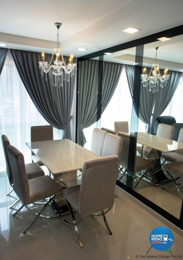Modern Design - Dining Room - HDB 5 Room - Design by B-Two Interior Design Pte Ltd
