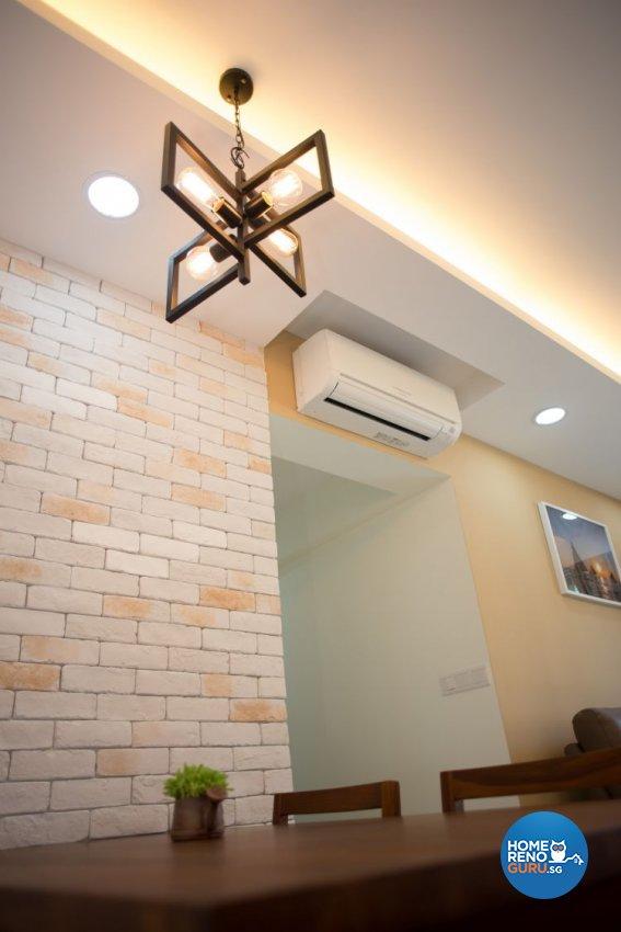 Minimalist Hdb Design: B Two Interior Design Pte Ltd Hdb 4 Roompunggol Woodcress