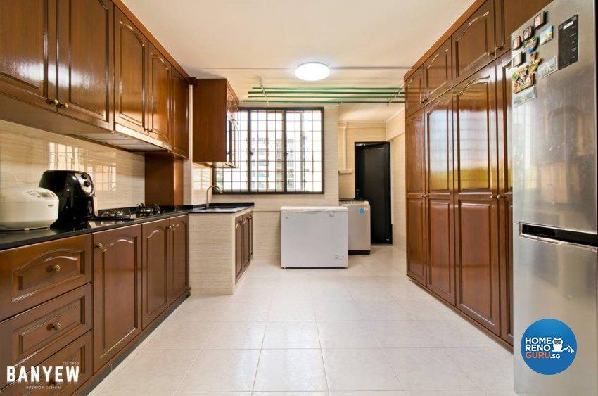 Others, Rustic, Vintage Design - Kitchen - HDB 4 Room - Design by Ban Yew Interior Design Pte Ltd