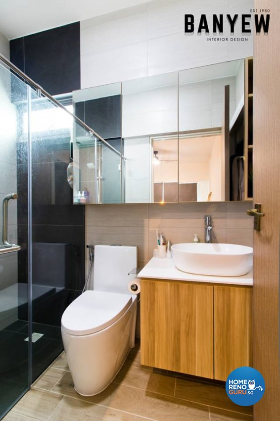 Classical, Modern Design - Bathroom - HDB 4 Room - Design by Ban Yew Interior Design Pte Ltd