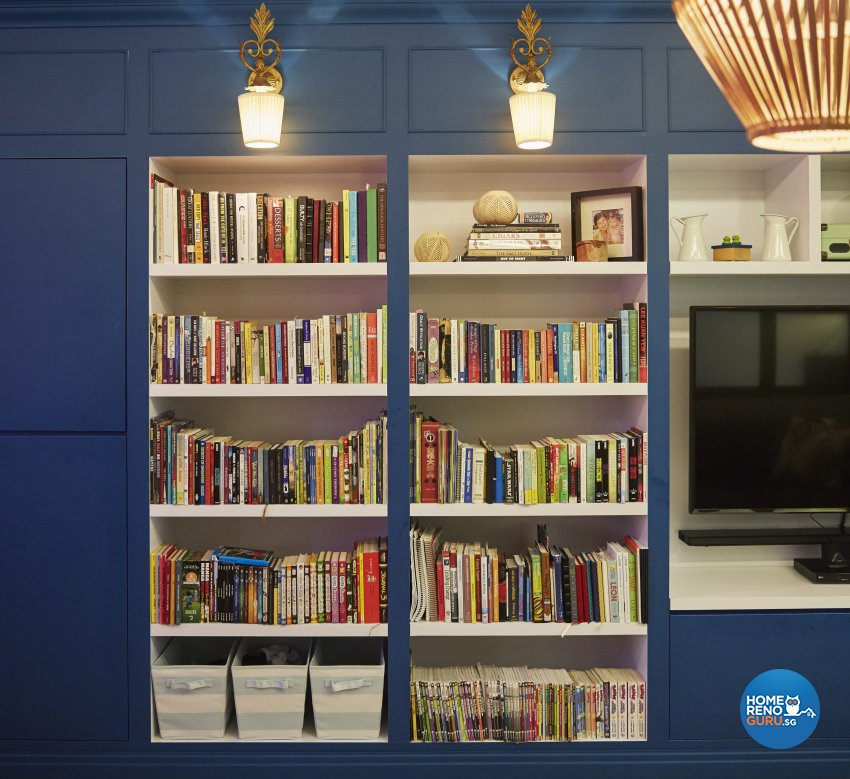 Classical, Modern, Vintage Design - Living Room - HDB 4 Room - Design by Ban Yew Interior Design Pte Ltd