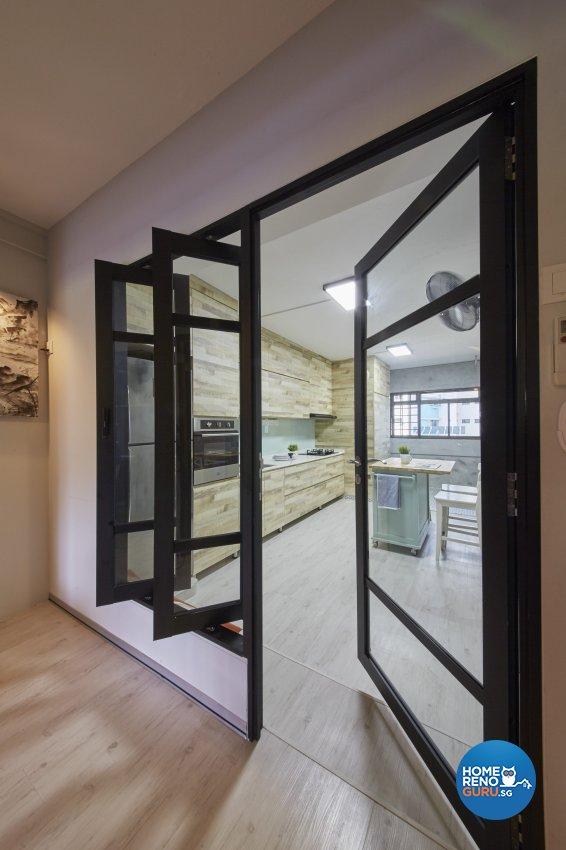 Classical, Modern, Vintage Design - Kitchen - HDB 4 Room - Design by Ban Yew Interior Design Pte Ltd