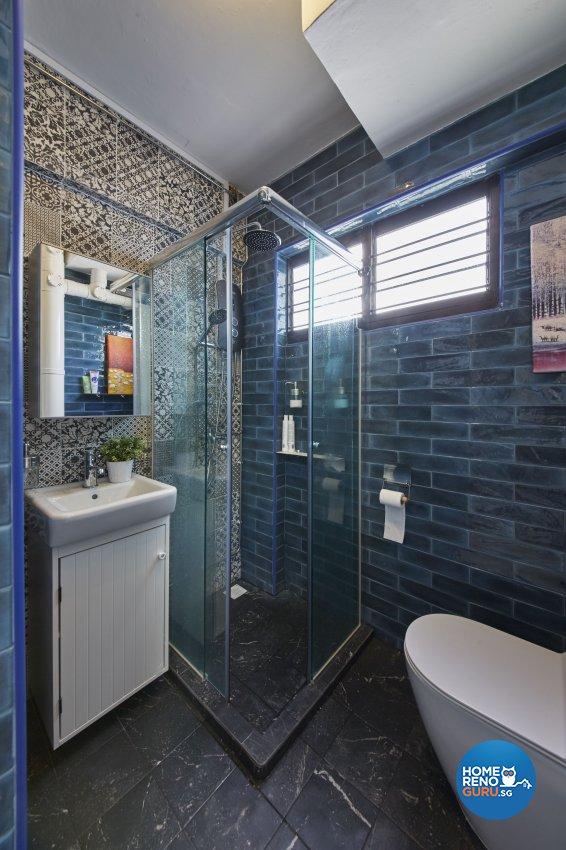 Classical, Modern, Vintage Design - Bathroom - HDB 4 Room - Design by Ban Yew Interior Design Pte Ltd