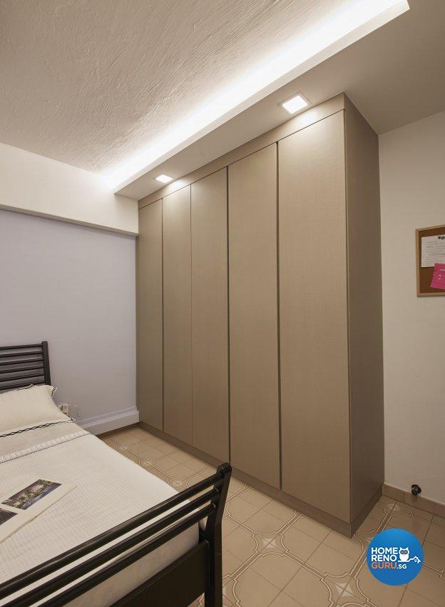 Classical, Modern, Vintage Design - Bedroom - HDB 4 Room - Design by Ban Yew Interior Design Pte Ltd