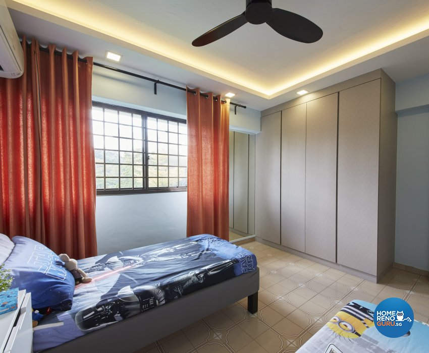 Classical, Modern, Vintage Design - Bedroom - HDB 4 Room - Design by Ban Yew Interior Design Pte Ltd