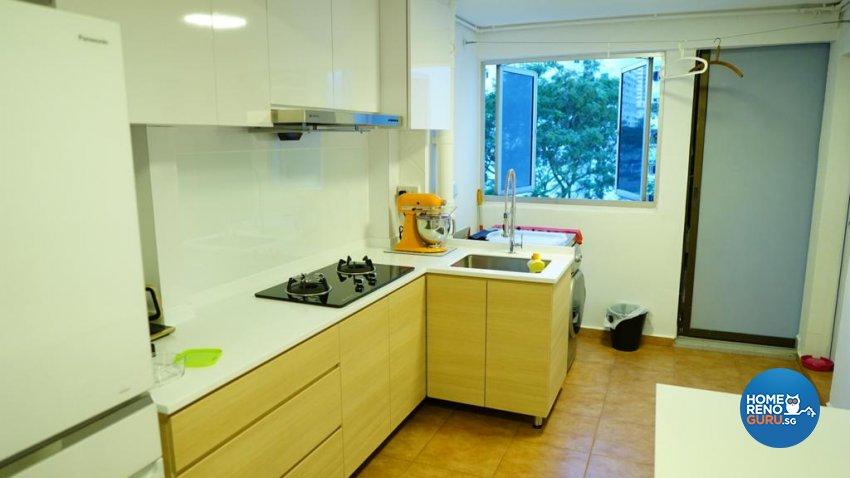 Classical, Oriental, Vintage Design - Kitchen - HDB 3 Room - Design by Ban Yew Interior Design Pte Ltd