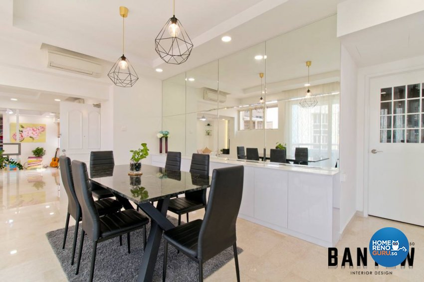 Country, Modern, Others Design - Dining Room - Condominium - Design by Ban Yew Interior Design Pte Ltd