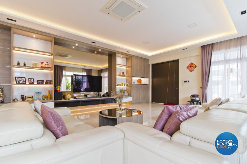 Classical, Modern, Resort Design - Living Room - Landed House - Design by Ban Yew Interior Design Pte Ltd