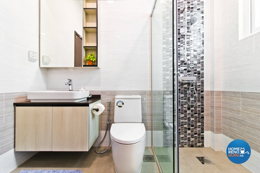 Classical, Modern, Resort Design - Bathroom - Landed House - Design by Ban Yew Interior Design Pte Ltd