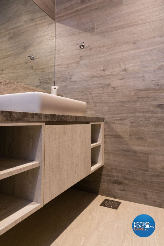 Classical, Contemporary, Minimalist Design - Bathroom - Landed House - Design by Baum Project Interior Design