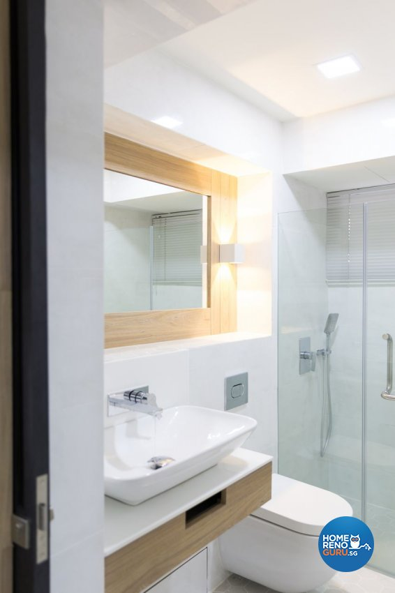 Contemporary, Scandinavian Design - Bathroom - HDB 4 Room - Design by Baum Project Interior Design
