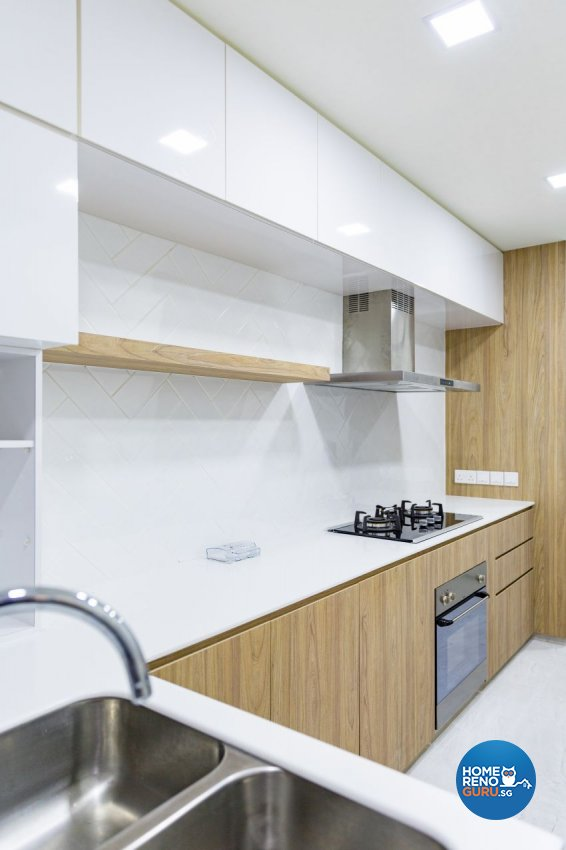Contemporary, Scandinavian Design - Kitchen - HDB 4 Room - Design by Baum Project Interior Design