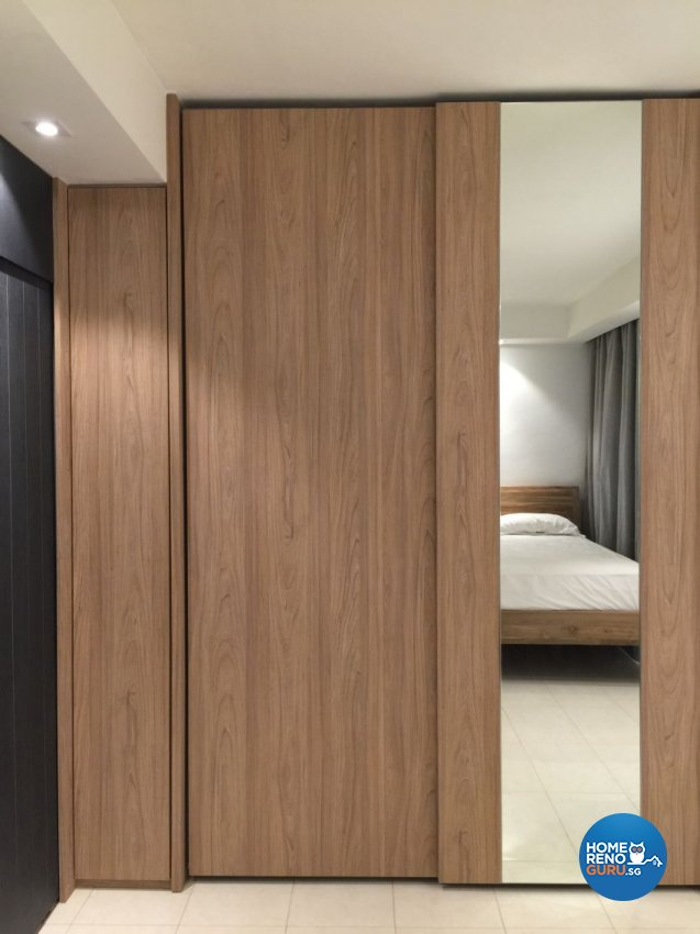 Contemporary, Scandinavian Design - Bedroom - HDB 4 Room - Design by Baum Project Interior Design