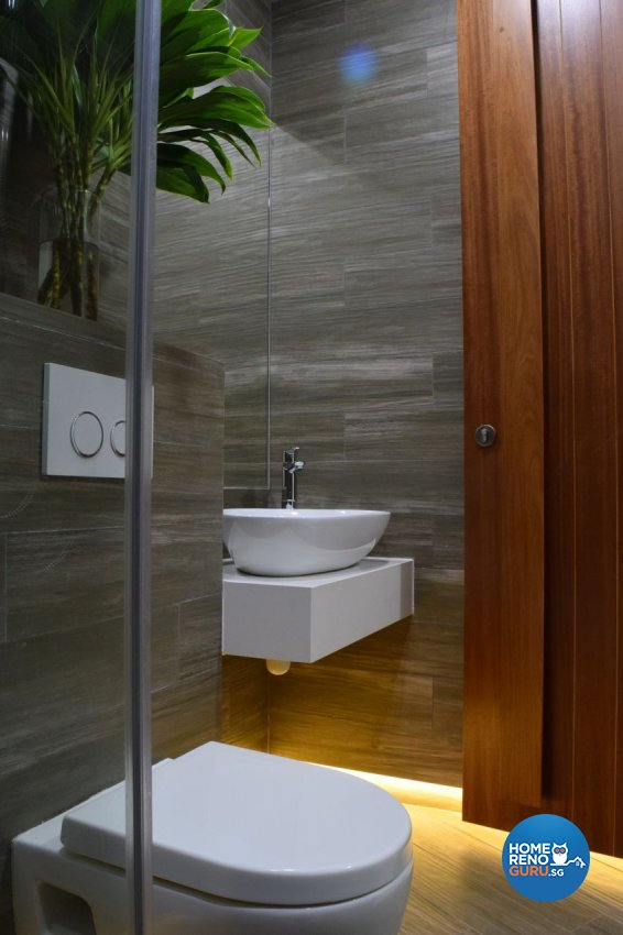 Scandinavian Design - Bathroom - Landed House - Design by Baum Project Interior Design