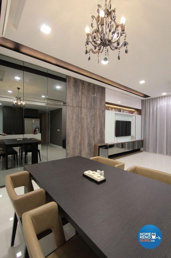 Contemporary, Industrial, Modern Design - Living Room - Condominium - Design by Beaux Monde Pte Ltd
