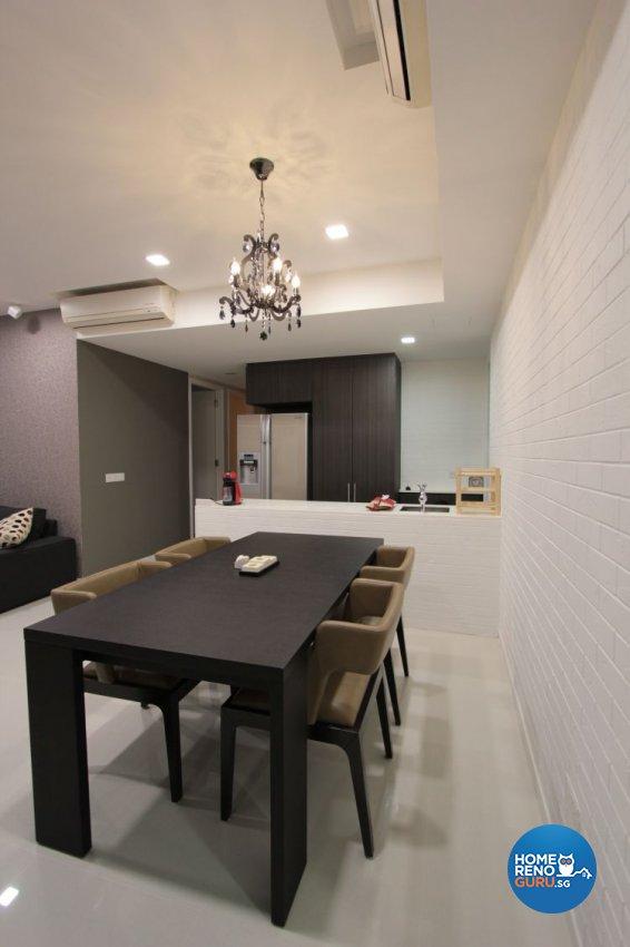 Contemporary, Industrial, Modern Design - Dining Room - Condominium - Design by Beaux Monde Pte Ltd