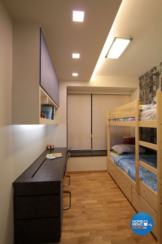 Contemporary, Industrial, Modern Design - Bedroom - Condominium - Design by Beaux Monde Pte Ltd