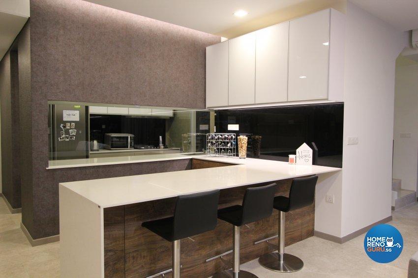 Contemporary, Modern Design - Kitchen - Condominium - Design by Beaux Monde Pte Ltd