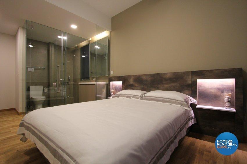 Contemporary, Modern Design - Bedroom - Condominium - Design by Beaux Monde Pte Ltd
