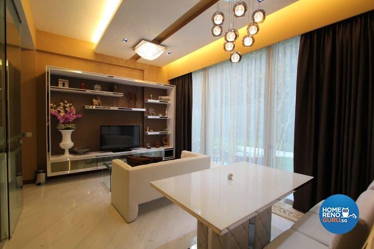 Contemporary, Modern Design - Living Room - Condominium - Design by Beaux Monde Pte Ltd