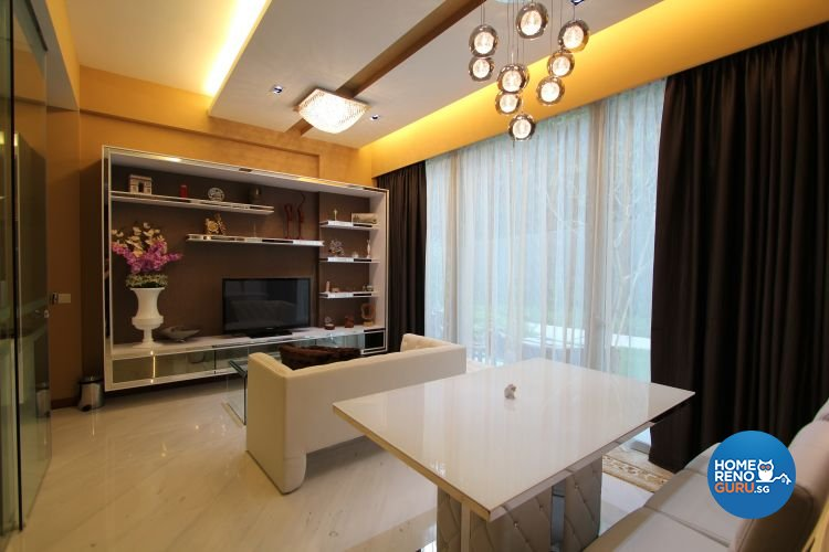 Contemporary, Modern Design - Living Room - Condominium - Design by Beaux Monde Pte Ltd