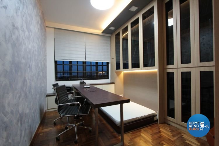 Contemporary, Modern Design - Study Room - Condominium - Design by Beaux Monde Pte Ltd
