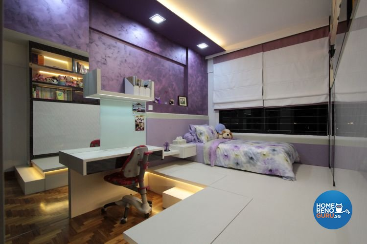 Contemporary, Modern Design - Bedroom - Condominium - Design by Beaux Monde Pte Ltd