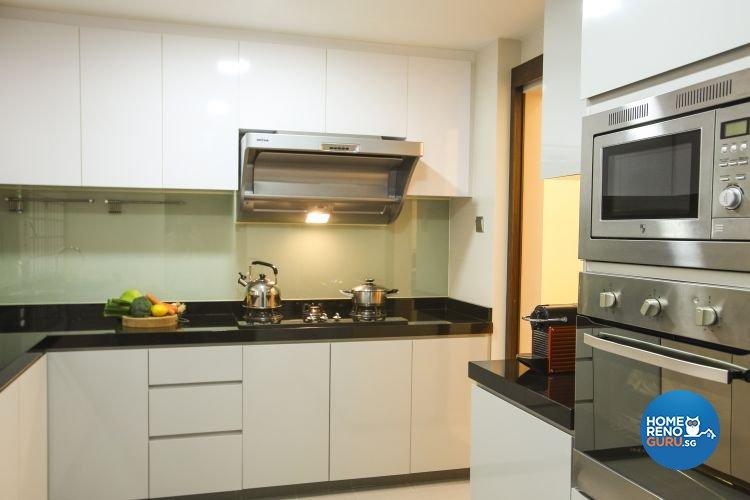 Classical, Modern, Victorian Design - Kitchen - Condominium - Design by Beaux Monde Pte Ltd