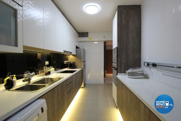 Classical, Contemporary, Modern Design - Kitchen - HDB 5 Room - Design by Beaux Monde Pte Ltd