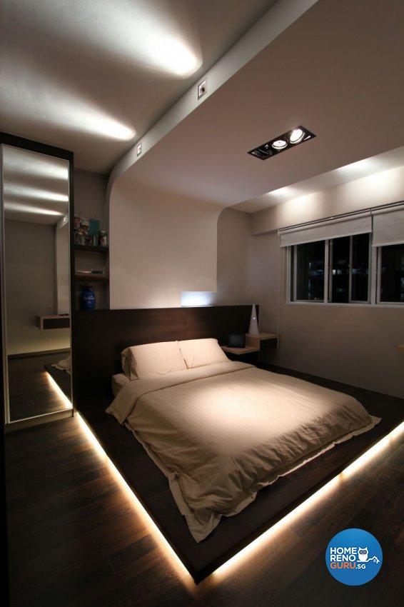 Contemporary, Minimalist, Modern Design - Bedroom - HDB 4 Room - Design by Beaux Monde Pte Ltd