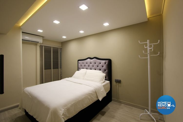 Contemporary, Eclectic, Modern Design - Bedroom - HDB 4 Room - Design by Beaux Monde Pte Ltd