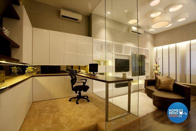 Contemporary, Modern Design - Living Room - Landed House - Design by Beaux Monde Pte Ltd