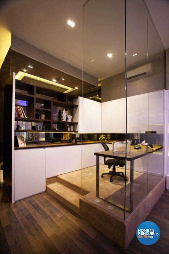 Contemporary, Modern Design - Study Room - Landed House - Design by Beaux Monde Pte Ltd