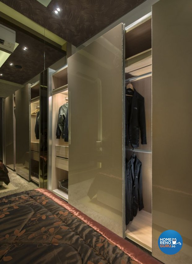Contemporary, Modern Design - Bedroom - Landed House - Design by Beaux Monde Pte Ltd